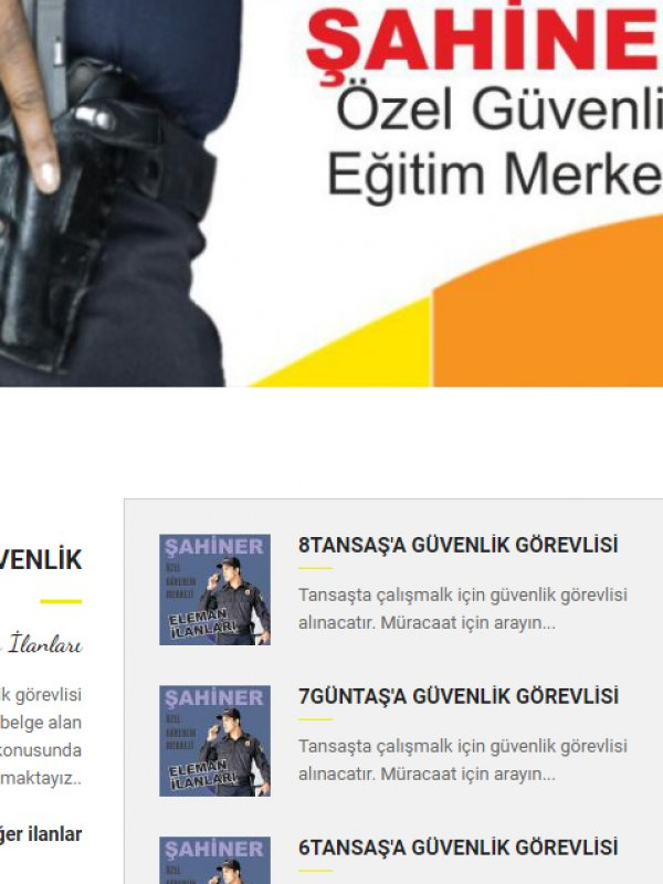 www.sahinerozelguvenlik.com.tr